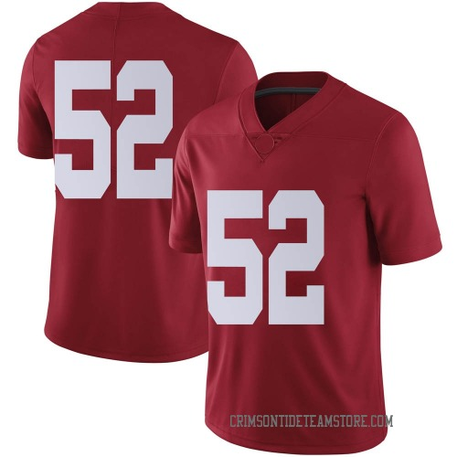 Men's Nike Preston Malone Alabama Crimson Tide Limited Crimson Football College Jersey