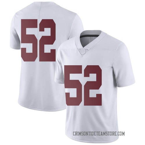Men's Nike Preston Malone Alabama Crimson Tide Limited White Football College Jersey