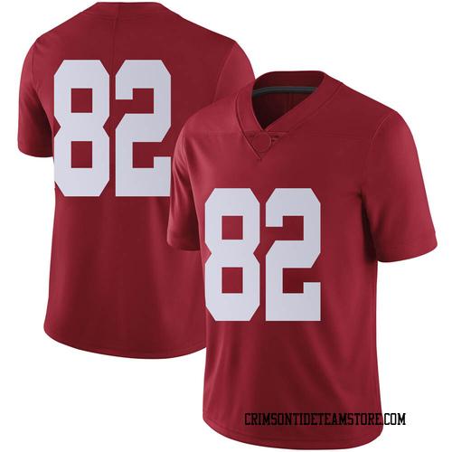 Men's Nike Richard Hunt Alabama Crimson Tide Limited Crimson Football College Jersey
