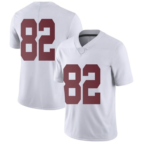 Men's Nike Richard Hunt Alabama Crimson Tide Limited White Football College Jersey