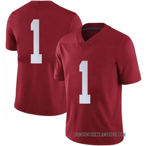 Men's Nike Riley Norris Alabama Crimson Tide Limited Crimson Football College Jersey