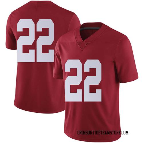Men's Nike Ronald Williams Jr. Alabama Crimson Tide Limited Crimson Football College Jersey