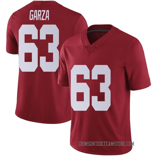 Men's Nike Rowdy Garza Alabama Crimson Tide Limited Crimson Football College Jersey