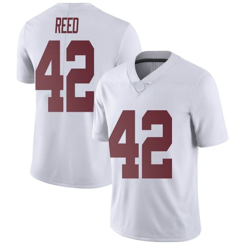 Men's Nike Sam Reed Alabama Crimson Tide Limited White Football College Jersey