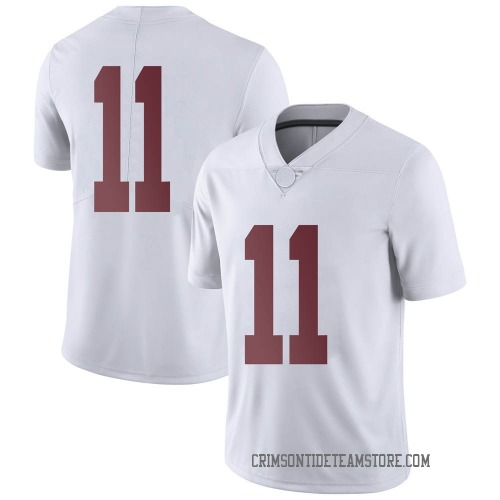 Men's Nike Scooby Carter Alabama Crimson Tide Limited White Football College Jersey