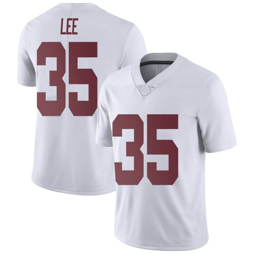 Men's Nike Shane Lee Alabama Crimson Tide Limited White Football College Jersey