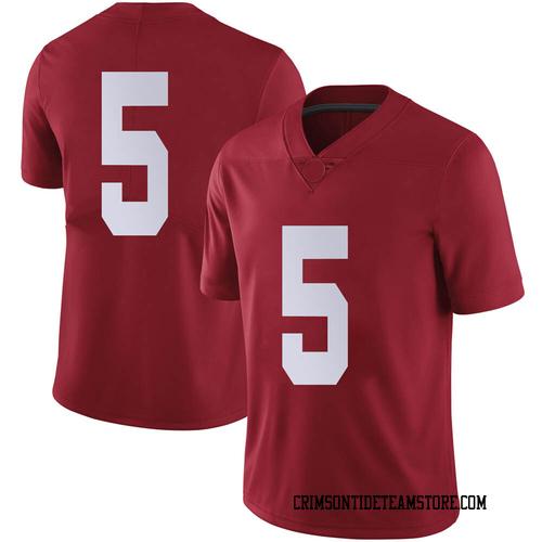 Men's Nike Taulia Tagovailoa Alabama Crimson Tide Limited Crimson Football College Jersey