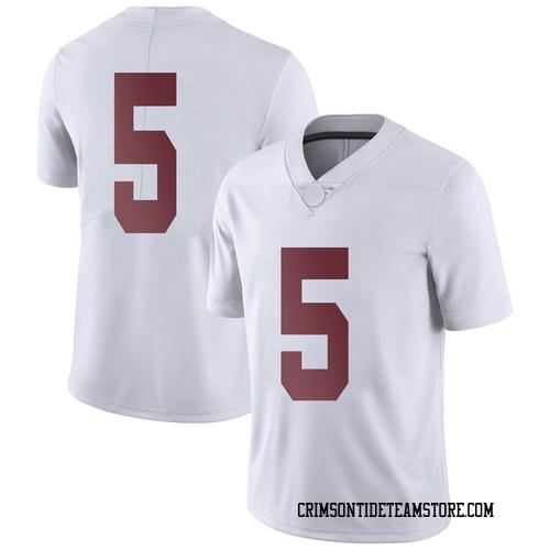 Men's Nike Taulia Tagovailoa Alabama Crimson Tide Limited White Football College Jersey