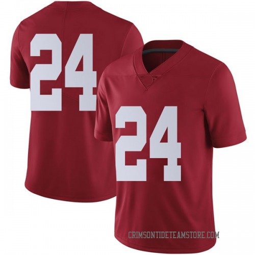 Men's Nike Terrell Lewis Alabama Crimson Tide Limited Crimson Football College Jersey