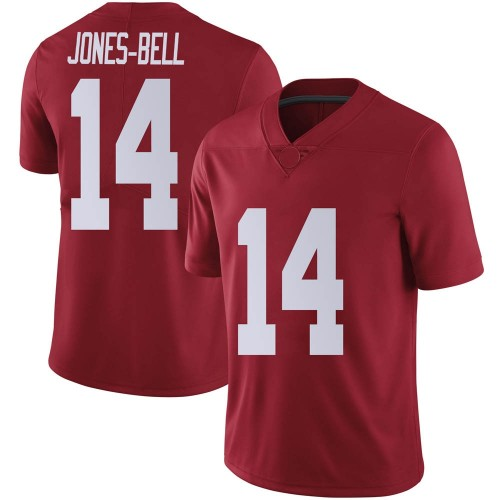 Men's Nike Thaiu Jones-Bell Alabama Crimson Tide Limited Crimson Football College Jersey