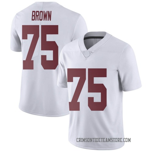 Men's Nike Tommy Brown Alabama Crimson Tide Limited White Football College Jersey