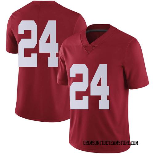 Men's Nike Trey Sanders Alabama Crimson Tide Limited Crimson Football College Jersey