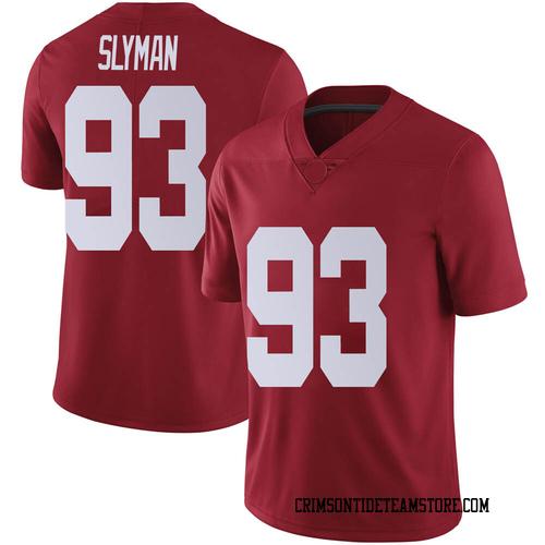 Men's Nike Tripp Slyman Alabama Crimson Tide Limited Crimson Football College Jersey