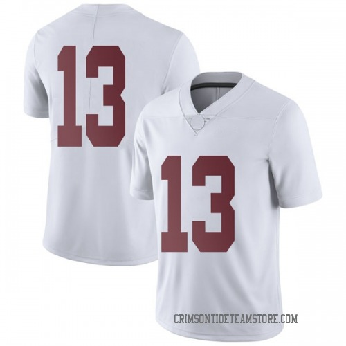Men's Nike Tua Tagovailoa Alabama Crimson Tide Limited White Football College Jersey