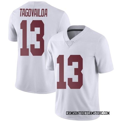 Men's Tua Tagovailoa Alabama Crimson Tide Limited White Football College Jersey