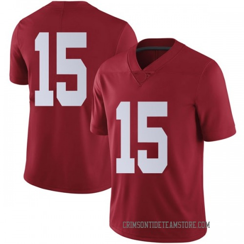 Men's Nike Tyler Barnes Alabama Crimson Tide Limited Crimson Football College Jersey