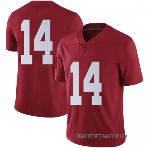 Men's Nike Tyrell Shavers Alabama Crimson Tide Limited Crimson Football College Jersey