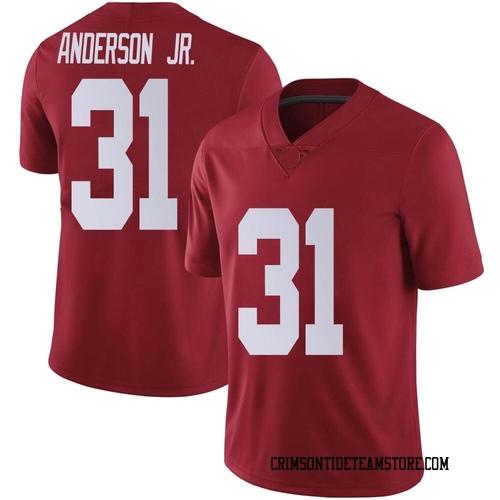 Men's Nike Will Anderson Jr. Alabama Crimson Tide Limited Crimson Football College Jersey