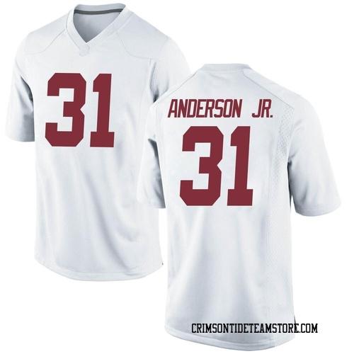 Men's Nike Will Anderson Jr. Alabama Crimson Tide Replica White Football College Jersey