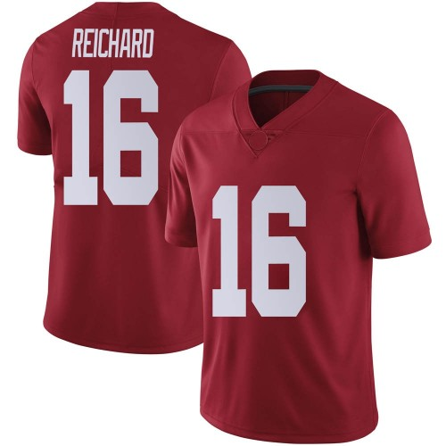 Men's Nike Will Reichard Alabama Crimson Tide Limited Crimson Football College Jersey