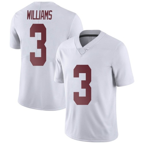 Men's Nike Xavier Williams Alabama Crimson Tide Limited White Football College Jersey