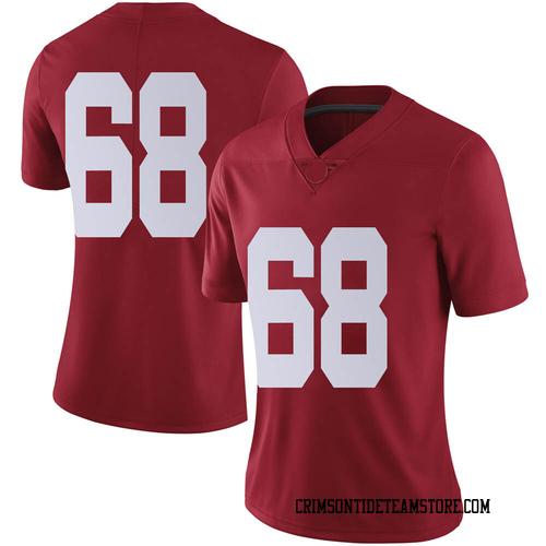 Women's Nike Alajujuan Sparks Alabama Crimson Tide Limited Crimson Football College Jersey