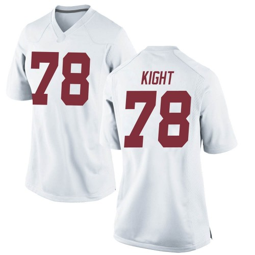 Women's Nike Amari Kight Alabama Crimson Tide Game White Football College Jersey