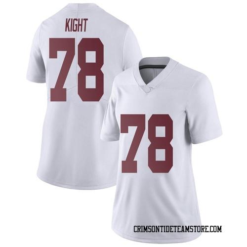 Women's Nike Amari Kight Alabama Crimson Tide Limited White Football College Jersey