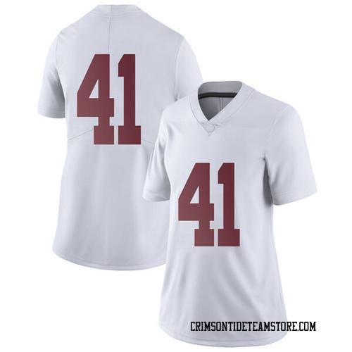 Women's Nike Andrew Heath Alabama Crimson Tide Limited White Football College Jersey