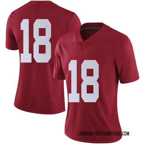 Women's Nike Austin Jones Alabama Crimson Tide Limited Crimson Football College Jersey