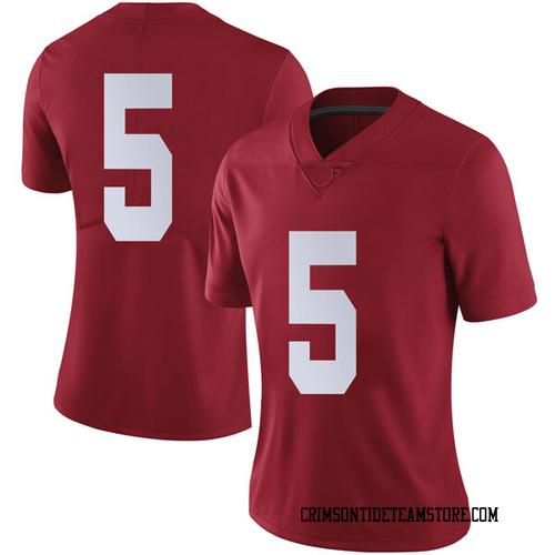 Women's Nike Avery Johnson Jr. Alabama Crimson Tide Limited Crimson Football College Jersey