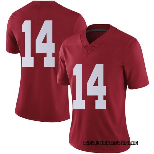 Women's Nike Brandon Turnage Alabama Crimson Tide Limited Crimson Football College Jersey