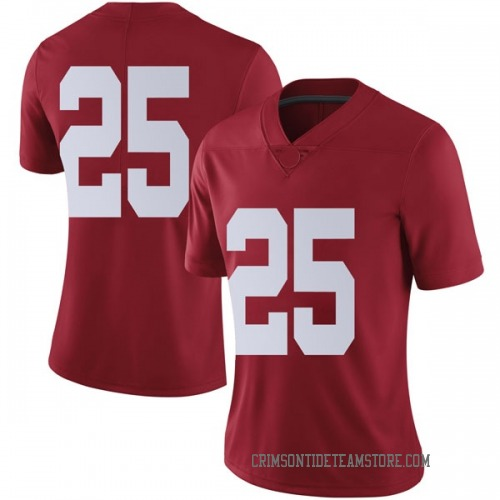 Women's Nike Braxton Key Alabama Crimson Tide Limited Crimson Football College Jersey