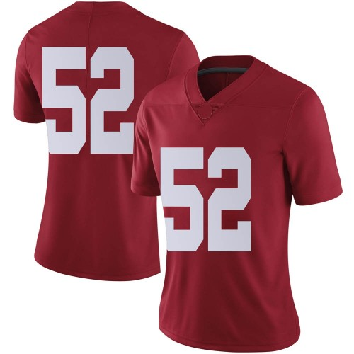 Women's Nike Braylen Ingraham Alabama Crimson Tide Limited Crimson Football College Jersey