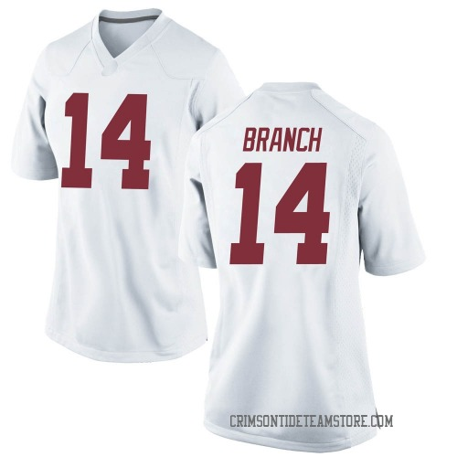 Women's Nike Brian Branch Alabama Crimson Tide Game White Football College Jersey