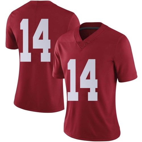 Women's Nike Brian Branch Alabama Crimson Tide Limited Crimson Football College Jersey