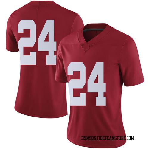 Women's Nike Brian Robinson Jr. Alabama Crimson Tide Limited Crimson Football College Jersey