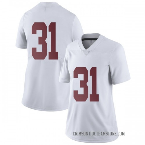 Women's Nike Bryce Musso Alabama Crimson Tide Limited White Football College Jersey