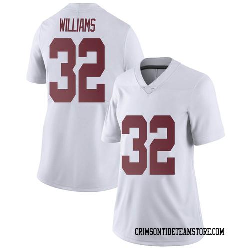 Women's Nike C.J. Williams Alabama Crimson Tide Limited White Football College Jersey