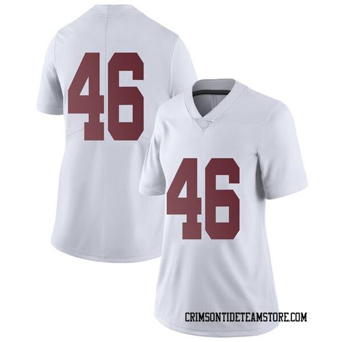 Women's Nike Cameron Latu Alabama Crimson Tide Limited White Football College Jersey