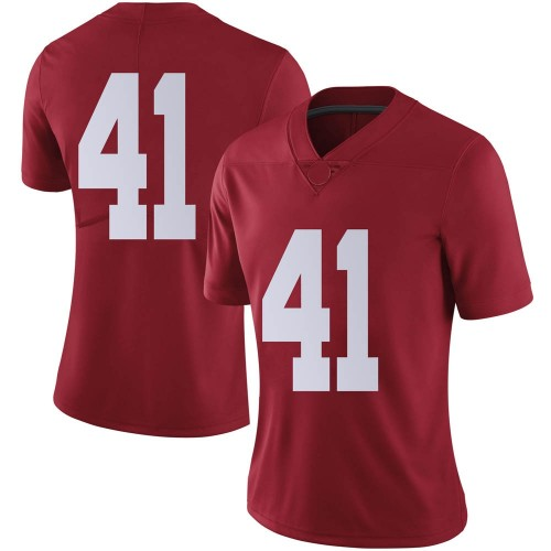 Women's Nike Carson Ware Alabama Crimson Tide Limited Crimson Football College Jersey