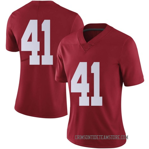 Women's Nike Chris Braswell Alabama Crimson Tide Limited Crimson Football College Jersey
