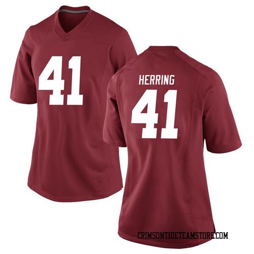 Women's Nike Chris Herring Alabama Crimson Tide Replica Crimson Football College Jersey