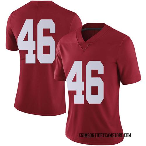 Women's Nike Christian Swann Alabama Crimson Tide Limited Crimson Football College Jersey
