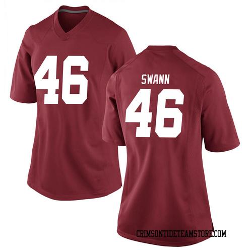 Women's Nike Christian Swann Alabama Crimson Tide Replica Crimson Football College Jersey
