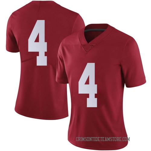 Women's Nike Christopher Allen Alabama Crimson Tide Limited Crimson Football College Jersey