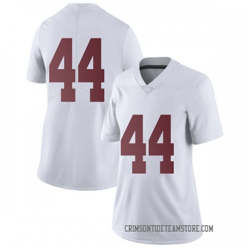 Women's Nike Cole Weaver Alabama Crimson Tide Limited White Football College Jersey