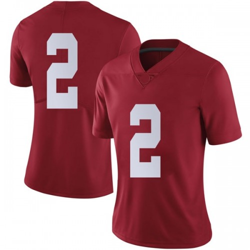 Women's Nike Collin Sexton Alabama Crimson Tide Limited Crimson Football College Jersey