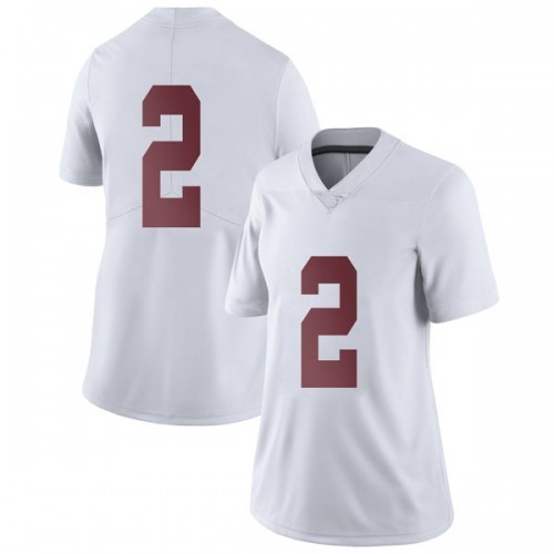 Women's Nike Collin Sexton Alabama Crimson Tide Limited White Football College Jersey
