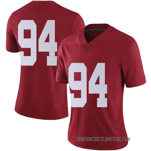 Women's Nike DJ Dale Alabama Crimson Tide Limited Crimson Football College Jersey